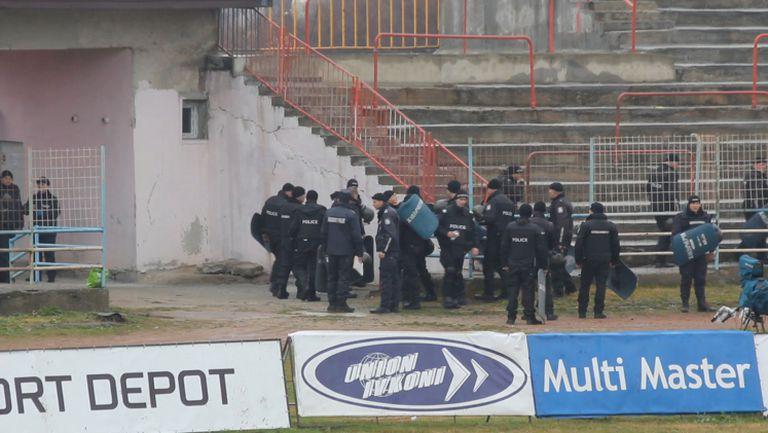 Близо 200 полицаи за Марек - ЦСКА