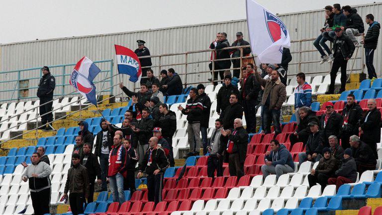 Скромна агитка за Марек срещу ЦСКА