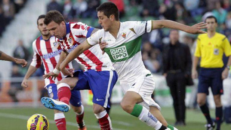 Елче - Атлетико (Мадрид) 0:2