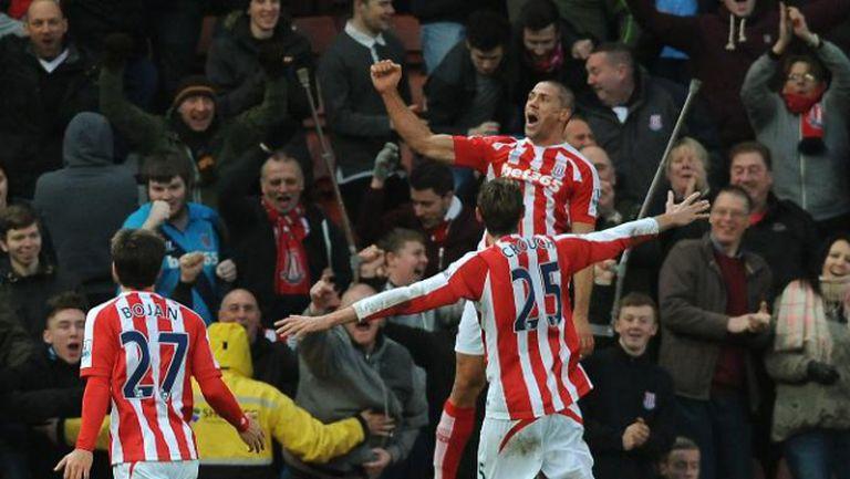 Стоук Сити - Арсенал 3:2