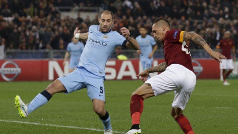 Рома - Манчестър Сити 0:2