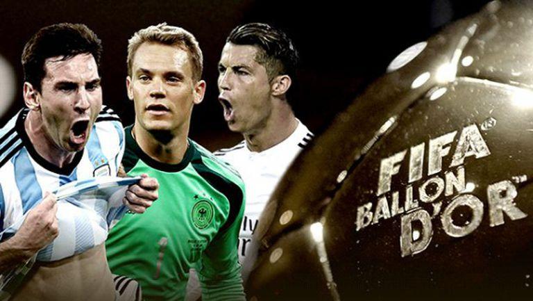 """Тримата кандидати за """"Златната топка"""" ясни днес"""