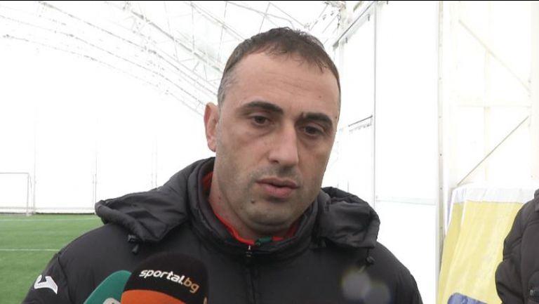 Ивайло Петев: Не съм говорил още с Бербатов