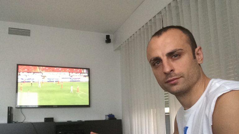 Бербатов гледа победата на ЦСКА