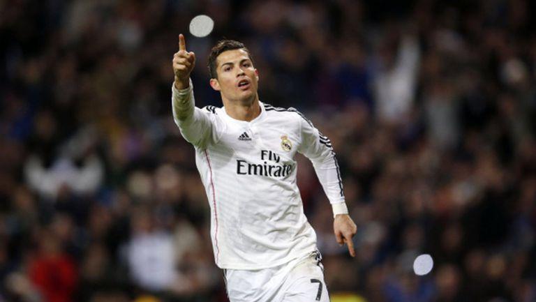 Кристиано, Кристиано, Кристиано - Реал Мадрид изравни рекорда на Барса (видео+галерия)