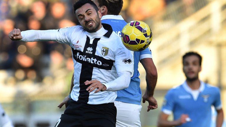 Лацио взе задължителните 3 т. срещу Парма (видео)