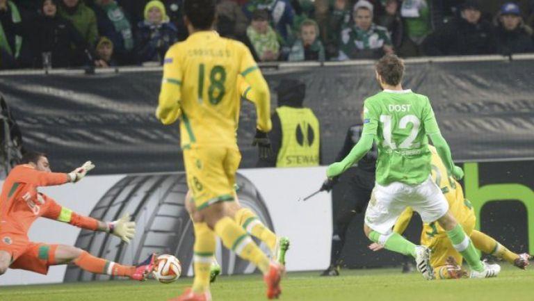 Волфсбург - Спортинг (Лисабон) 2:0