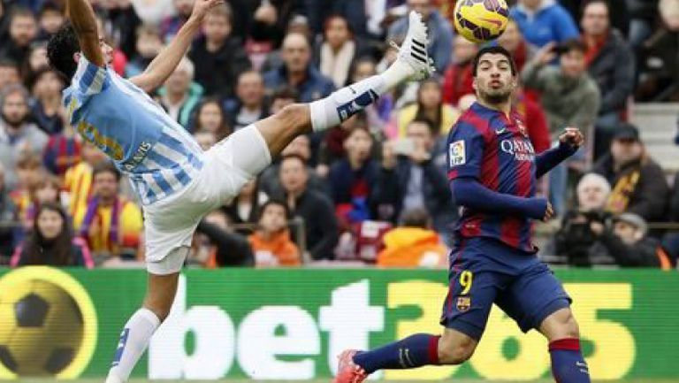 Барселона - Малага 0:1