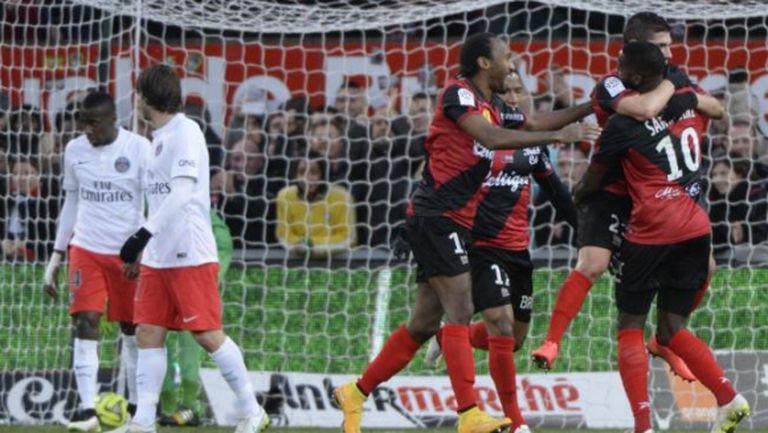 ПСЖ бе посечен за първи път в Лига 1