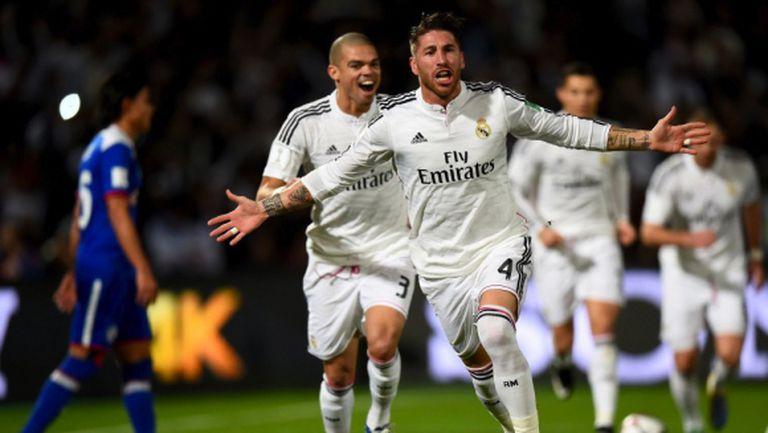 """Реал Мадрид стъпква съперници и в Мароко, """"белите"""" са на финал (видео+галерия)"""