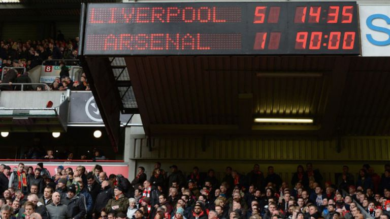Венгер: Ливърпул не е този отбор, който ни победи с 5:1