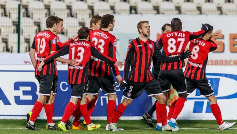 Амкар - Динамо (Москва) 2:0 (Гол на Георги Пеев от дузпа)