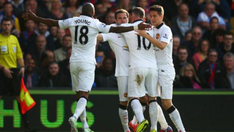 Кристъл Палас - Манчестър Юнайтед 1:2