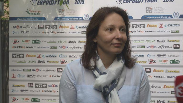 Жени Раданова: Сигурна съм, че още в Рио ще имаме по-сериозни резултати на Спортните таланти