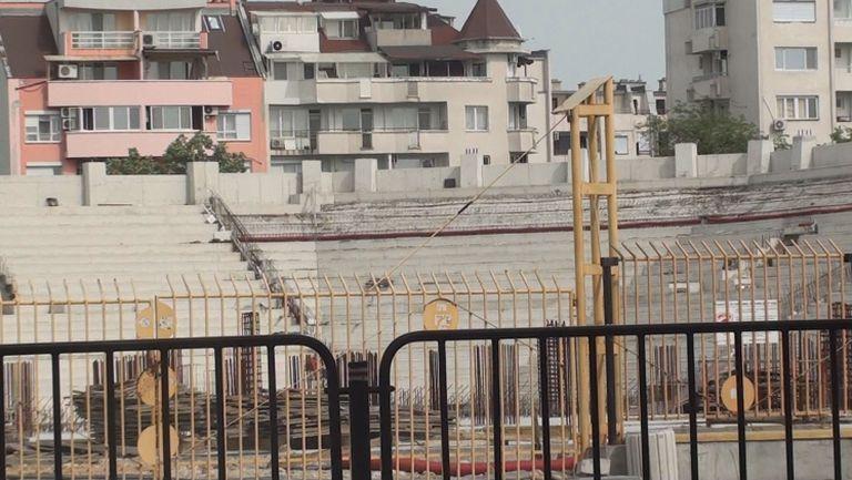 Без ремонтни дейности по стадиона на Ботев