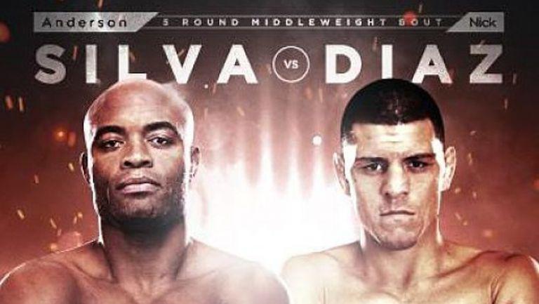 Андерсън Силва срещу Ник Диаз в UFC 183 (ВИДЕО)