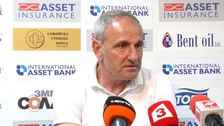 Спасов: Имаме предимство, че ще играем на финала за Купата