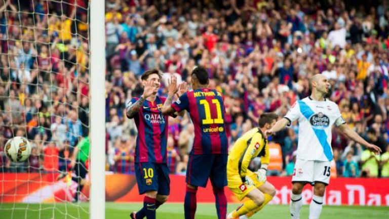 Барселона - Депортиво Ла Коруня 2:2