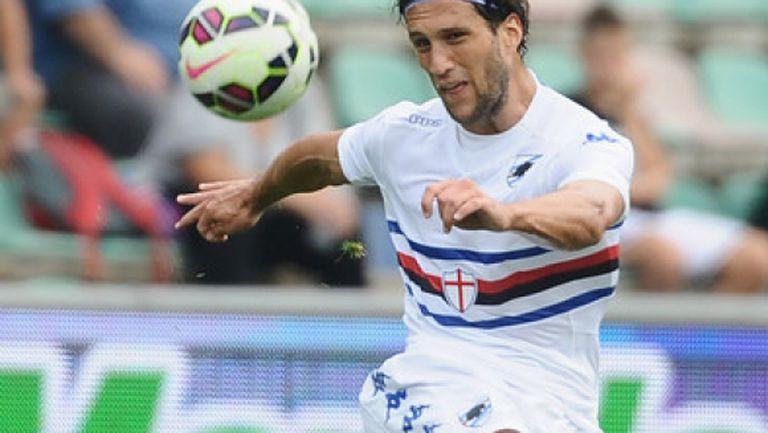 Сампдория урежда играч на Интер за постоянно