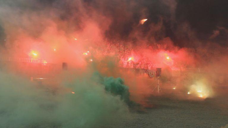 Най-доброто от ултрасите на Черно море във финала срещу Левски