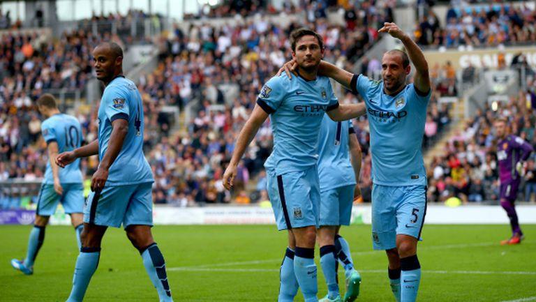 Манчестър Сити задържа Лампард до края на сезона