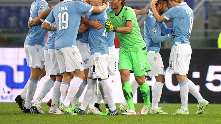 Лацио готови с 11-те срещу Рома