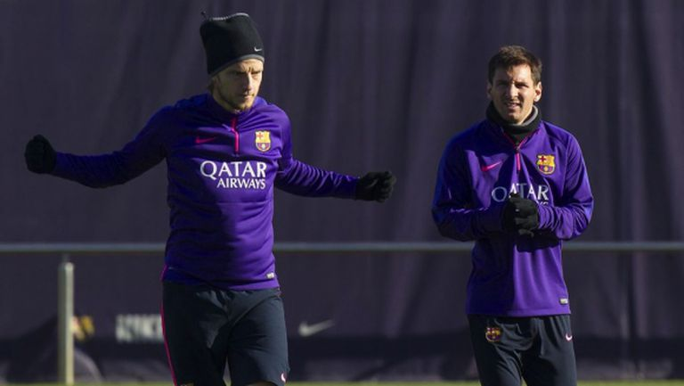Меси и Енрике още не си говорят, Барса закъсня с тренировката
