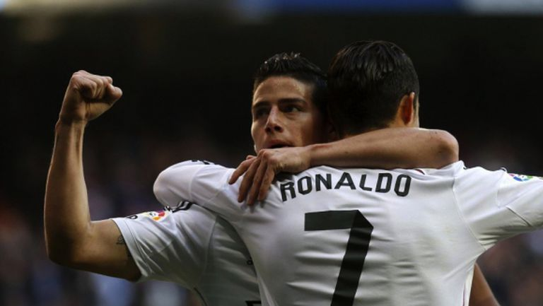 Реал Мадрид отново се качи на победните релси (видео + галерия)