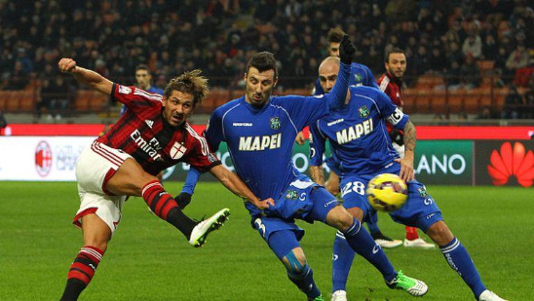 Милан отмъсти на Сасуоло и е на 1/4-финал за Купата на Италия (видео)