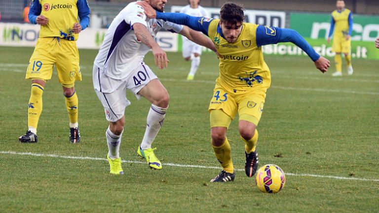 Фиорентина излъга Киево с гол в 94-ата минута (видео)