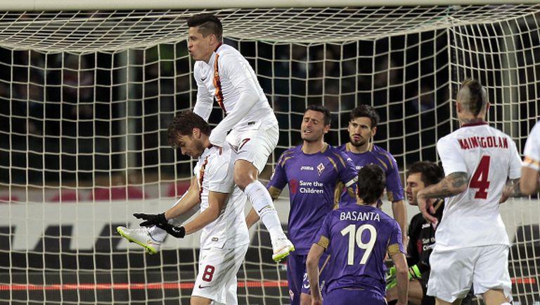 """Рома не успя да съкрати аванса на Юве след 1:1 на """"Артемио Франки"""" (видео)"""