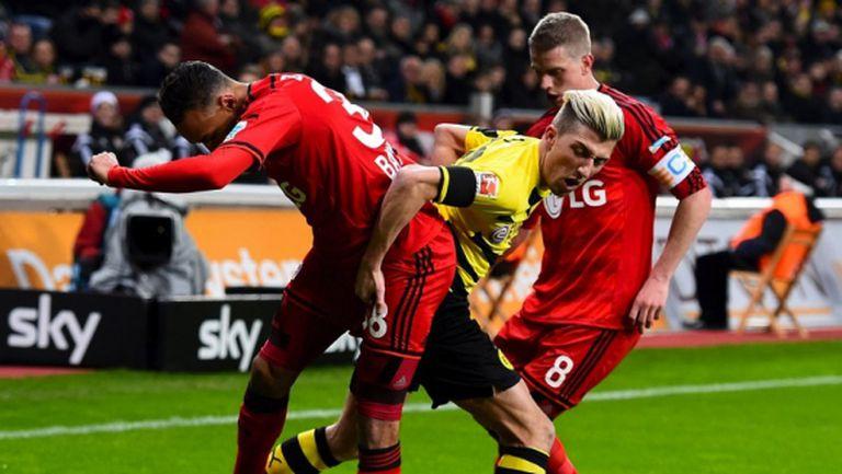 Дортмунд вече еднолично на последното място (видео)