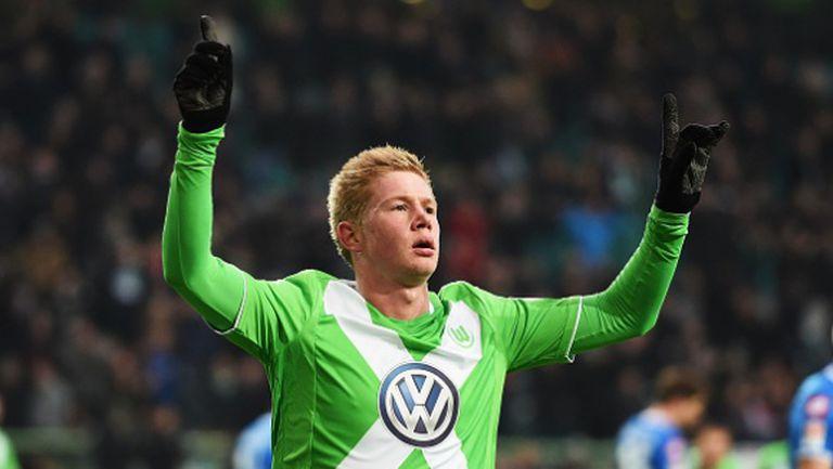 Волфсбург не прости на Хофе, силен дебют на Шюрле (видео)