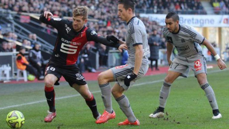 Окампос с решителен гол в дебюта си за Марсилия
