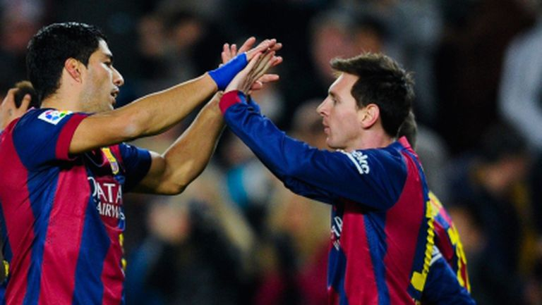 Меси и Суарес доближиха Барса до финала след 10-а поредна победа (видео + галерия)