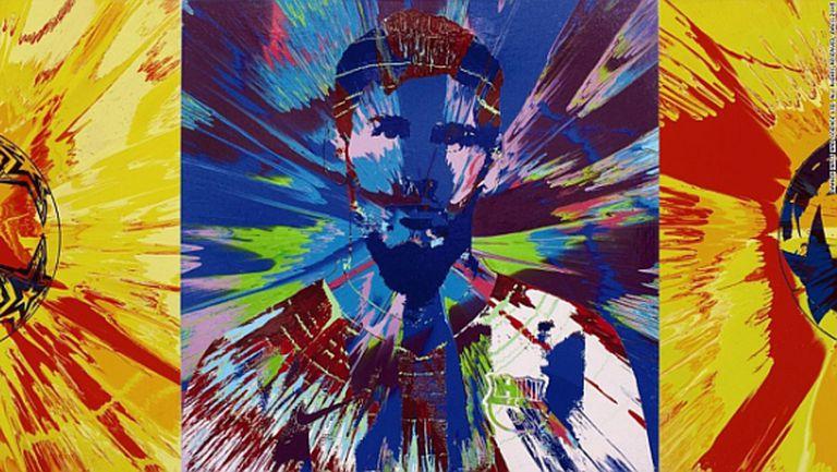 Продадоха два портрета на Меси за 1 млн. евро