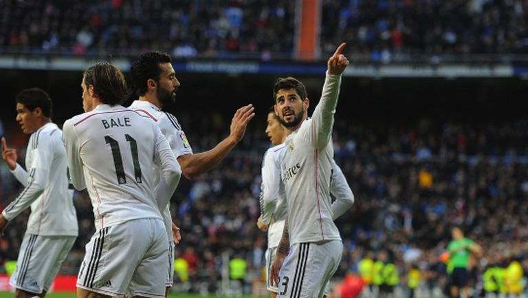 Реал Мадрид надигна глава (видео+галерия)