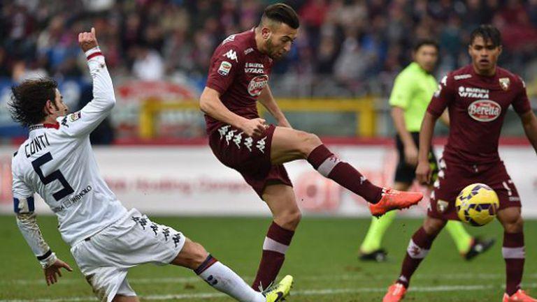Два гола за една минута и много скука в Торино