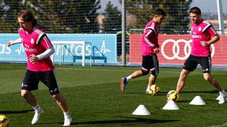 Голяма новина за Реал Мадрид - Модрич вече тренира с отбора