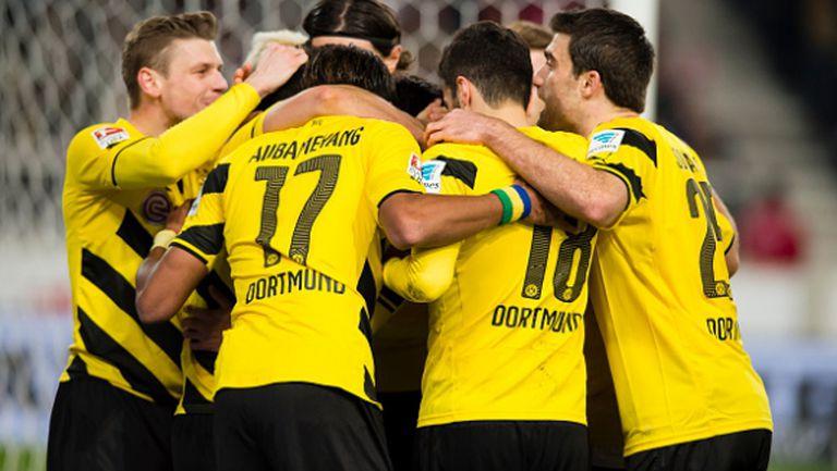 Напред и нагоре - Борусия (Д) с трета поредна победа в Бундеслигата (видео)