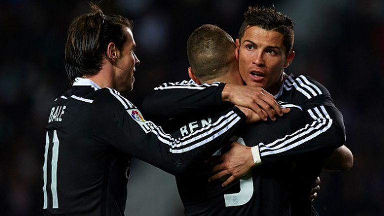 Трудно, но заслужено - Реал вече е на 4 точки пред Барса (видео)