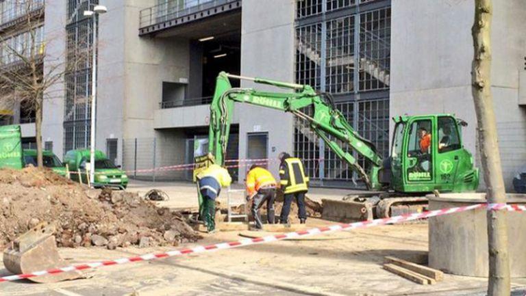 Бомба от войната затвори стадиона в Дортмунд