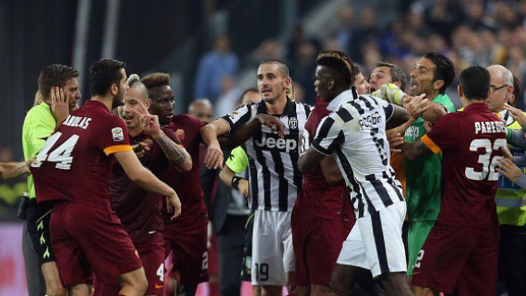 Рома и Ювентус в сблъсък с поглед към титлата