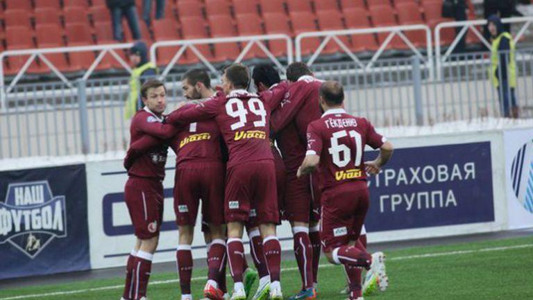 Благо Георгиев с асистенция при успех на Рубин (видео)