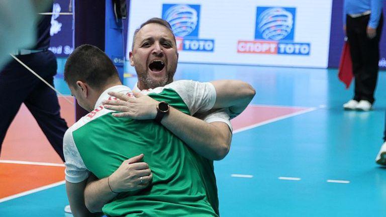 Иван Петков: Поздравления за отбора, колегите от щаба и невероятната публика в Русе
