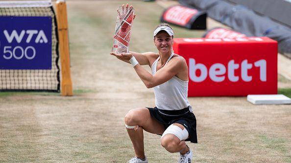 Самсонова спечели първа титла в първия си финал