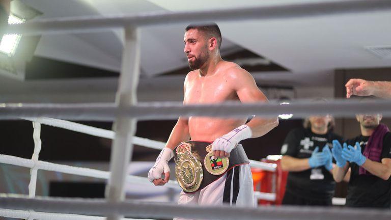 Пепелянката изненадващо предизвикан на ринга веднага след победата си