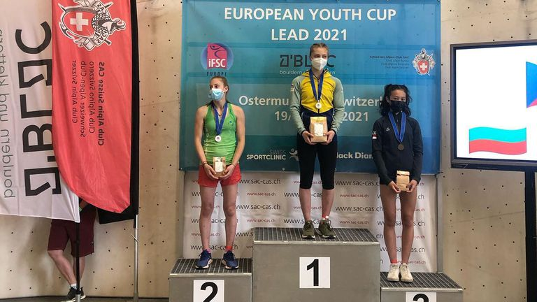 Сребро и бронз за България от Европейската купа по спортно катерене в Швейцария