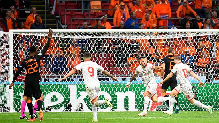 Тънка засада попречи на Северна Македония да води в резултата срещу Нидерландия