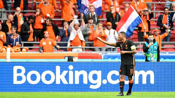 Вайналдум с втори гол в рамките на няколко минути, Нидерландия вече води с 3:0 срещу Северна Македония